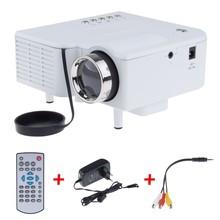 UC28 Mini LED Digital Video Game Projectors Multimedia player Inputs AV VGA USB SD HDMI proyector Built-in Speaker data show Hot(China (Mainland))