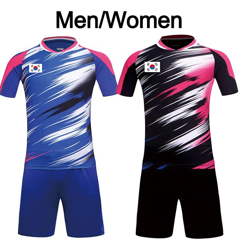 New Korea Badminton Team Jerseys, v badminton shirts Flag, Lee Y D badminton sets big Game V6013AB
