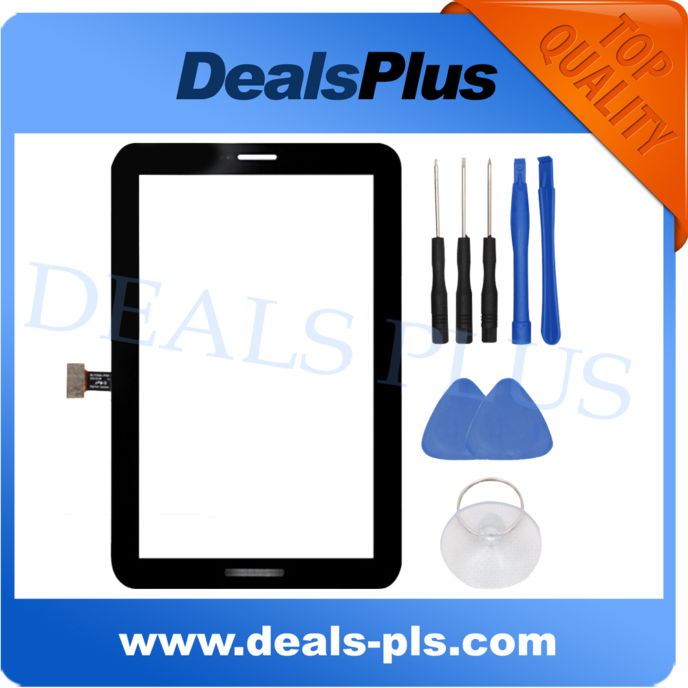 Original Touch Screen Digitizer Glass Sensor Replacement Black For Samsung GALAXY Tab2 7.0 P3100 Free Shipping +tool<br><br>Aliexpress