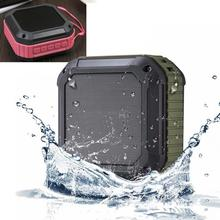 Hot Sale 2016 Top Quality Mini Wireless Waterproof Bluetooth V4.0 Speaker with 12 Hour Playtime Portable TF Card Stereo Speakers(China (Mainland))