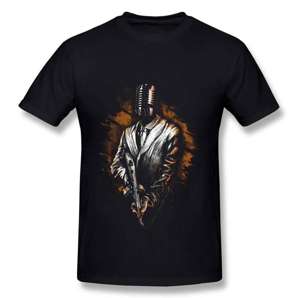 Cheap Price Organic Cotton Music Mafia Men's t-shirt Summer Short Sleeve t shirts for Men(China (Mainland))