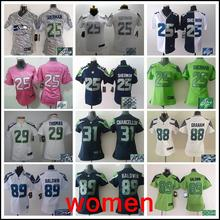 Signature Stitiched,Seattle Seahawks,Marshawn Lynch,Richard Sherman,Kam Chancellor,Russell Wilsons,Jimmy Graham,Earl Thomas(China (Mainland))