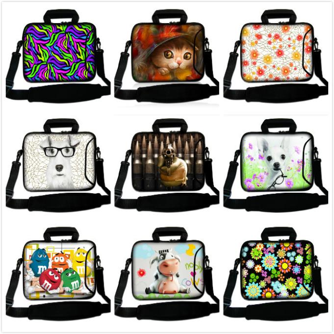 """Personalized settings 12""""13""""14""""15""""17""""Laptop Handle Bag Notebook Messenger Case Tablet PC Protect Pouch Computer Shoulder Bag(China (Mainland))"""