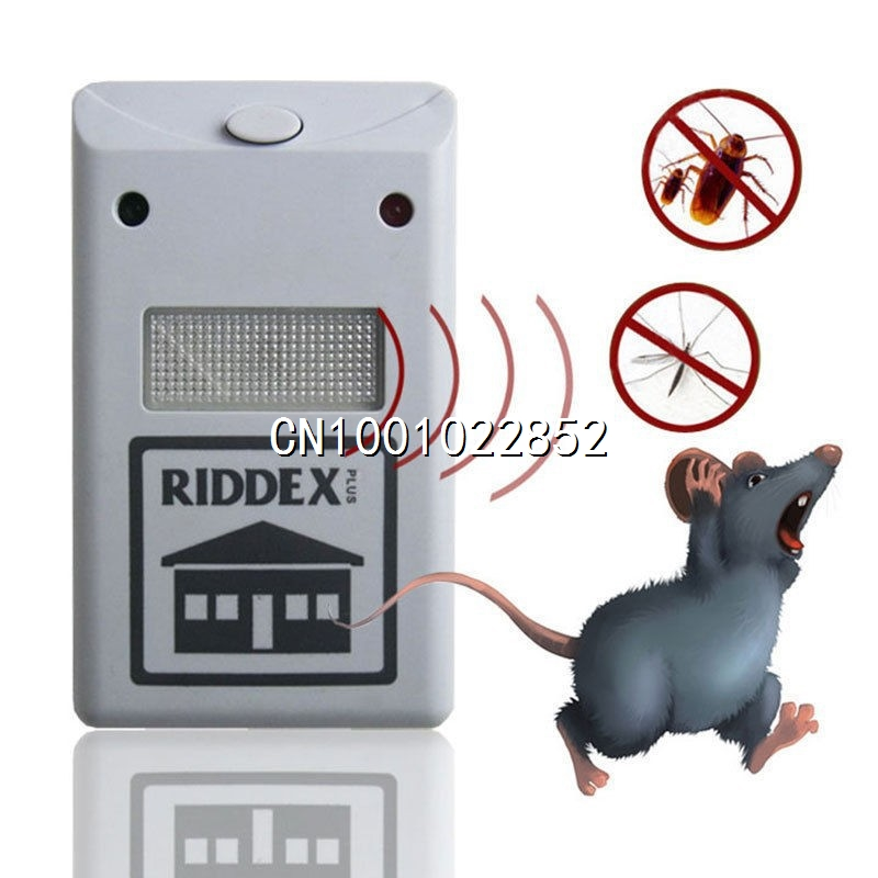 new 220V Ultrasonic Riddex Plus Electronic Pest Rodent Repeller(China (Mainland))