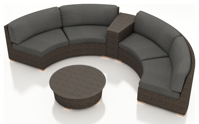 canap rond coupe promotion achetez des canap rond coupe. Black Bedroom Furniture Sets. Home Design Ideas
