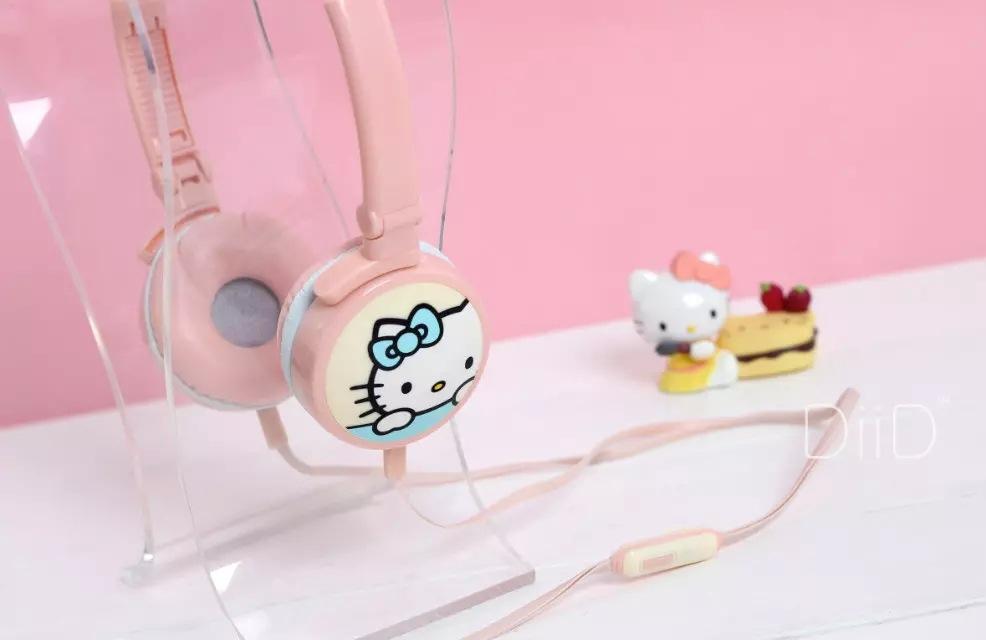 Novelty Travel Portable On-Ear Foldable Headphones I Love You More Serif Fun - White On Teal Sale