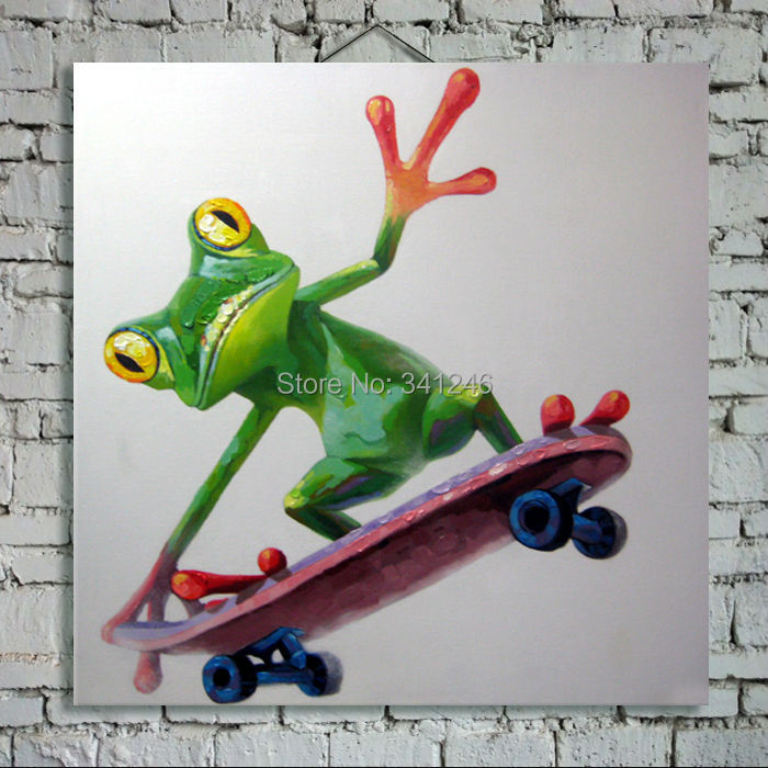 Painted Skateboard Wall Art Hand-painted Modern Wall Art