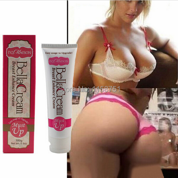 1Lot 3PCS MUST UP Hottest Herbal Extracts 100G Breast Enlargement Cream Butt Enlargement Breast Enhancement Pueraria
