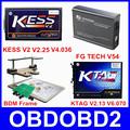 Newest Version ECU Programmer KTAG V2 13 V2 25 KESS V2 FG TECH Galletto 4 V54