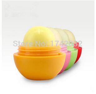 2Pcs/Lot ,9 Colors Hot Sale ! 2015 Fashion Nature Lips Balm Ball Glossy Lipstick Family Package ,Free Shipping!(China (Mainland))