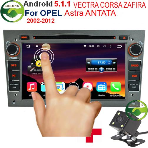 "Gray Panel 2 Din 7"" 1024x600 1GB/16GB Quad Core Android 5.1.1 Car DVD GPS For Opel Vectra Corsa Zafira Astra Antara Tigra Combo(China (Mainland))"