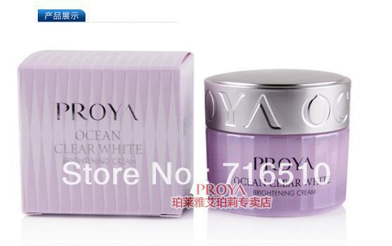 Ocean white with sparkling 50g whitening moisturizing after repair cream skin care products(China (Mainland))
