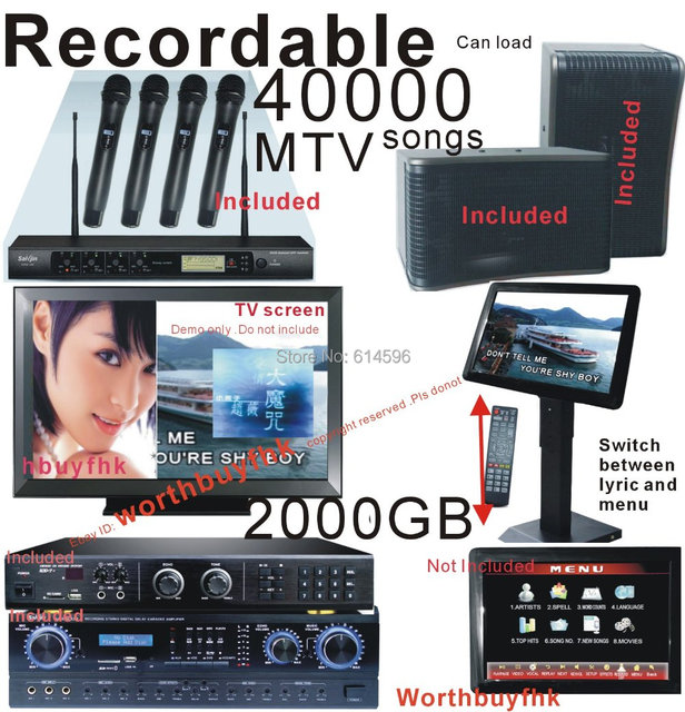recordable karaoke machine
