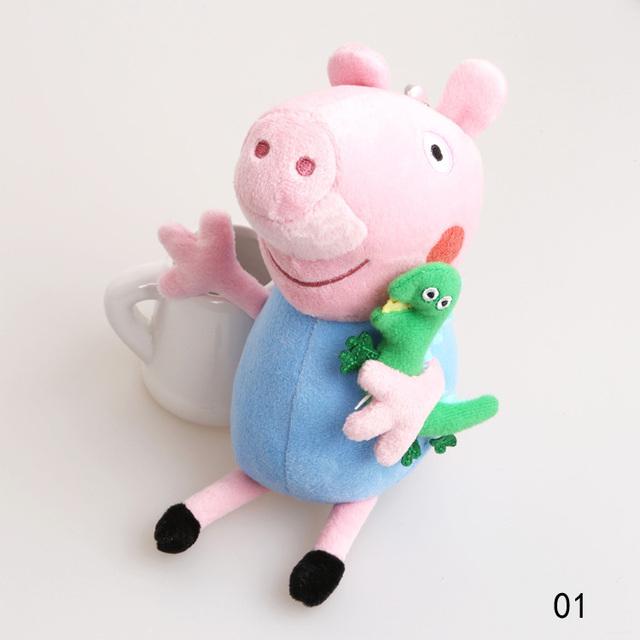 Мода милый поросенок джордж мультфильм игрушки младенцев плюшевые мягкие игрушки Toy-0088 \ прошитой-br