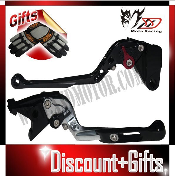 ZX9R 1998-1999 Extendable Foldable Folding F14 K750 Motocycle Brake Clutch Lever