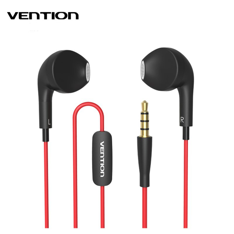 Vention VAE-T03 Dolphin Audio Earphone For Xiaomi In-Ear Earphones For Samsung For iPhone MP3 MP4 With Remote MIC 1.2M Length(China (Mainland))