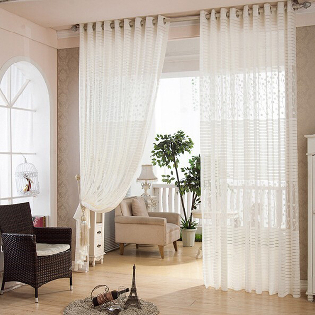 Curtains summer style curtain for living room cortinas para sala ...