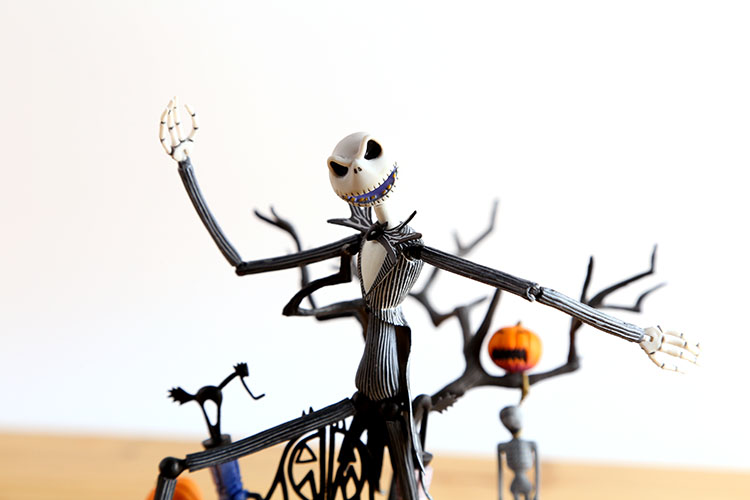 SCI-FI Revoltech Series NO.005 Jack Skellington Boxed 20cm PVC Action Figure Colletion Model Doll Toy Gift<br><br>Aliexpress