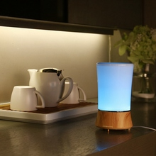 LED Color Change Night Light Essential Oil Ultrasonic Air Humidifier electric Aroma Diffuser Aromatherapy (China (Mainland))