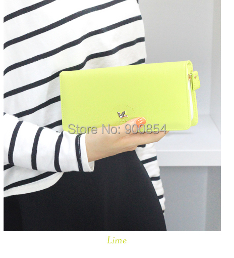 2014 new hot selling wallets PU leather multifunctional women clutch long design folding wallet bird fashion purse - Royal Star Industries Co., Limited store