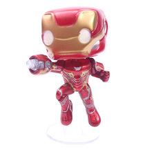 Vingadores Marvel Thanos 3 Infinito Guerra Figura de Ação Boneca de Brinquedo Homem De Ferro Homem Aranha Capitão América Thor Pantera Negra Com Caixa 10 cm(China)