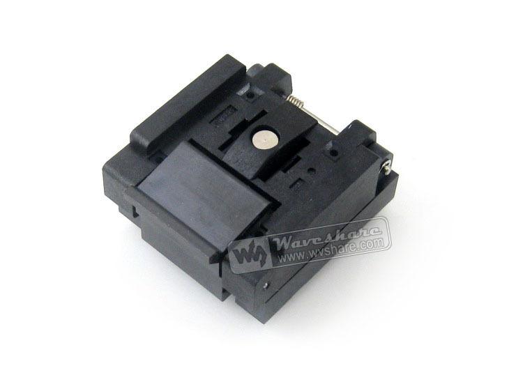 Free Shipping QFN-28B-0.65-01 Enplas IC Test Socket 0.65mm Pitch QFN28 MLP28 MLF28 Package<br><br>Aliexpress
