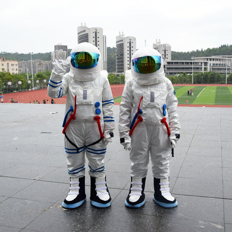 2014 Hot Sale ! High Quality Space suit mascot costume Astronaut mascot costume with Backpack with LOGO glove,shoesFree Shipping()