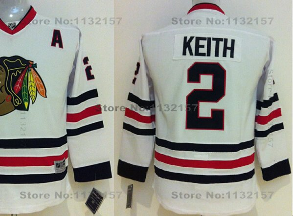 stanley cup champions stitched nhl jersey kids duncan keith jersey youth 2 chicago blackhawks hockey