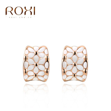ROXI fashion girls party gold plated earrings , women party earrings,Nickeless,wholesale,Christmas/birthday gifts,(China (Mainland))