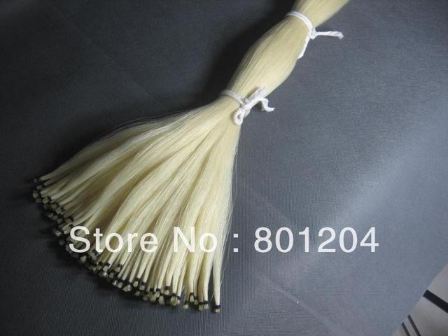 6 hanks 80-83cm violin bow hair horse hair Natural Mongolia horsetails