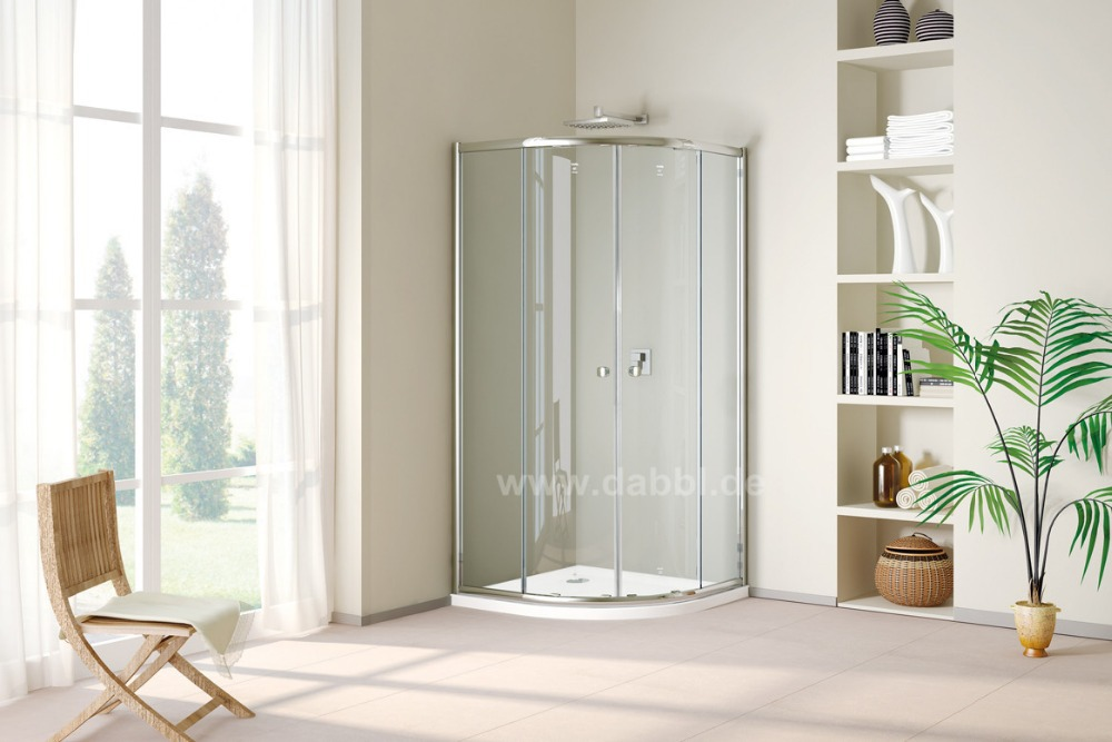 900x900x1950mm Quadrant Corner Cubicle Glass Door Shower Enclosure Cabin left and Right Opening Door DY-DF392(China (Mainland))