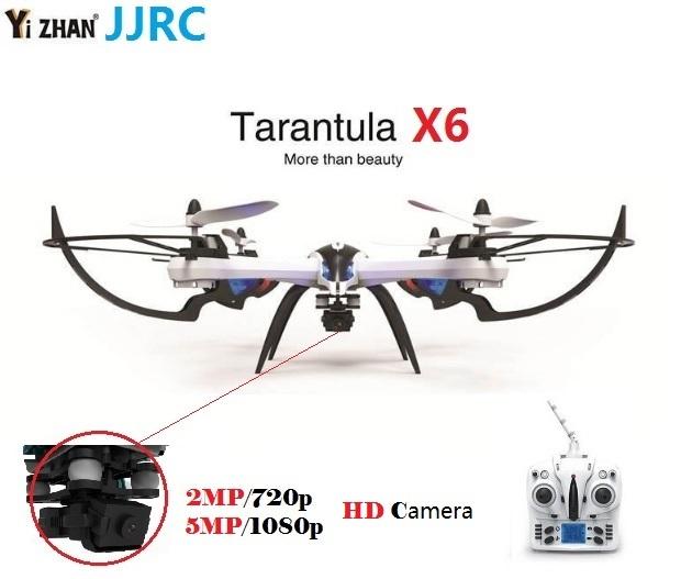 Yizhan JJRC тарантул X6 Quadcopter с 2MP или 5MP широкоугольный HD камера 2.4 г 6 оси вертолет профессиональный беспилотный против H12C