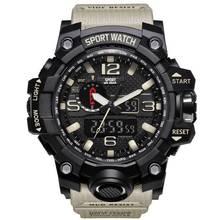 G Choque Relógios Homens estilo Militar Do Exército Mens Watch Reloj Presente Digital Led Sports relógio de Pulso Masculino Relógios Analógicos Automáticos Masculinos(China)