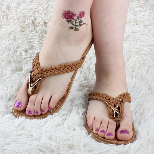 Good quality new 2015fashion leisure soft bottom women sandals slippers Flip Flops summer Beach Flat Casual shoes - BLUELEMON store