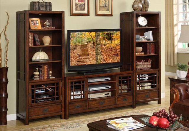 American style solid wood tv cabinet combination wood audio cabinet combination tv in cabinet