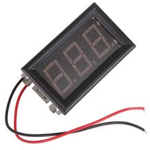 8.25 promoción! 10 unids YB27A AC 75 V – 300 V voltímetro Digital LED con sistema de dos hilos y rojo Display precio más bajo
