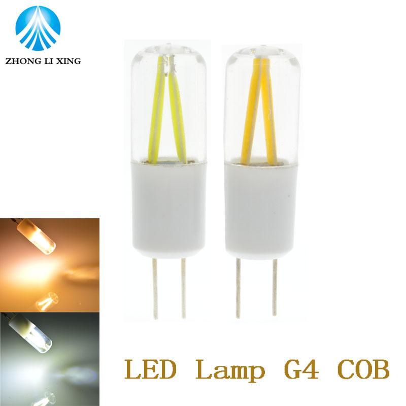 5x 2016 new High quality AC/DC 12V G4 LED 3W NEW COB Corn Light SMD bulb Super bright Replace Halogen Lamp Led Light(China (Mainland))