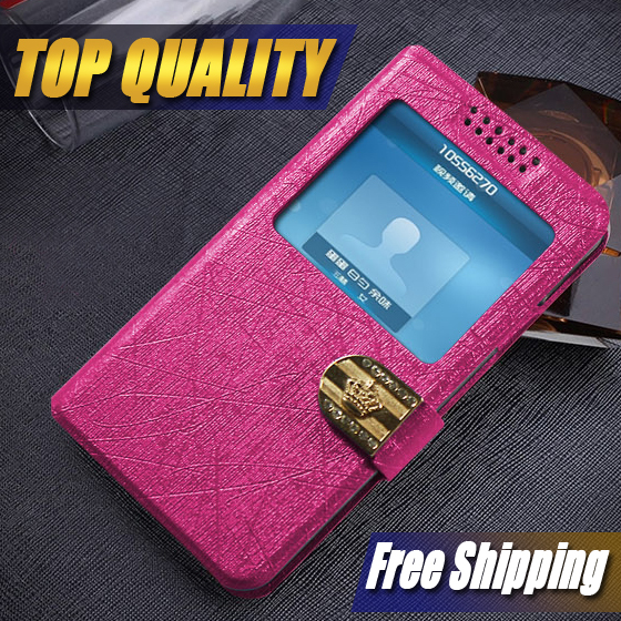 Book Flip PU Leather Wallet Case Cover Stand Card Pouch phone Cases For Blackberry Q10 with stand function and open window(China (Mainland))