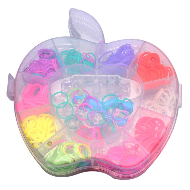 rainbow bands Rubber Toy Gift Loom Kits Fun Elastic band Kit DIY Bracelets Colorful Children - freedom dream utopia store