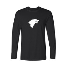 Famous Brand Game of Thrones 4xl Cotton sports Long Sleeve T Shirt Men and Funny T-shirt Men in Long Sleeve Cotton Tee Shirt
