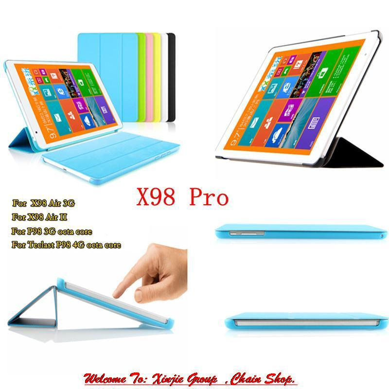 Protective Flip PU Leather Case Stand Teclast X98 AIR II / Air 3G /P98 4G Octa core /X98 Pro 9.7 inch Tablet PC - WJP co., LTD store