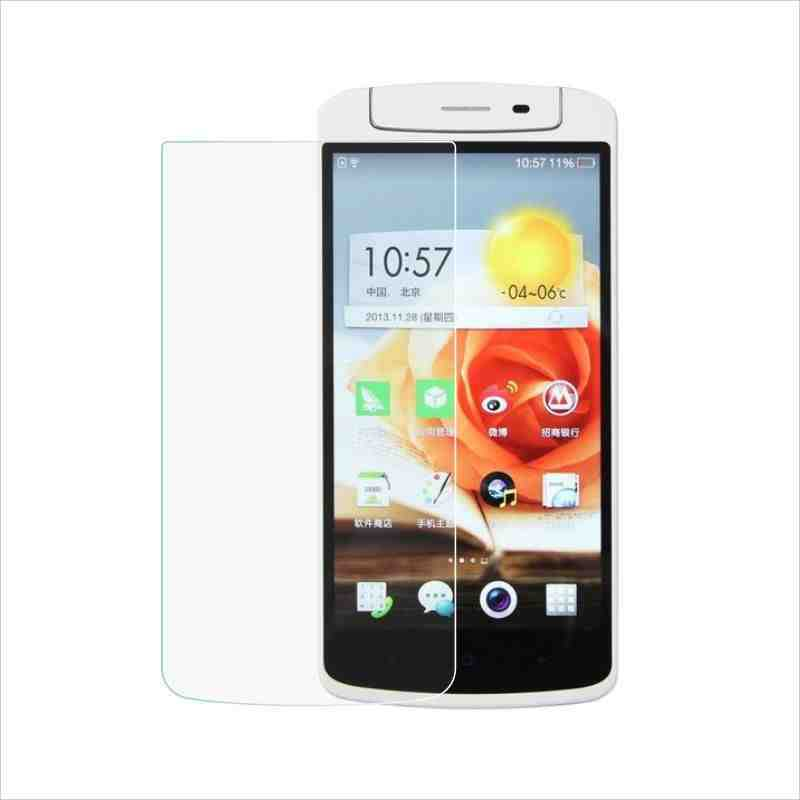 Tempered Glass Screen Protector OPPO N1 Scratch-resistant Membrance Thin Guard Film - robin chan's store