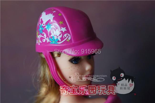 new arrival free shiping cap and boots set for barbie doll