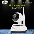 BW HD Onvif Wireless IP Camera Wi Fi Motion Detect Alarm Security Surveillance Camera 720P Night