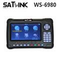 Genuine Satlink WS 6980 7inch HD LCD Screen DVB S2 DVB T T2 DVB C