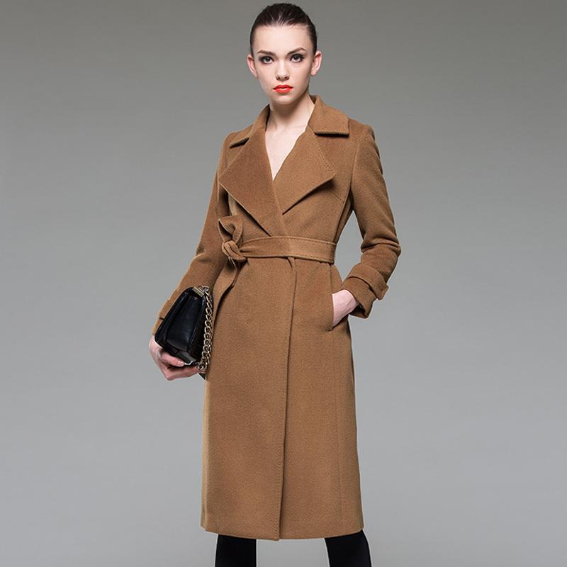Images of Wool Maxi Coat - Reikian
