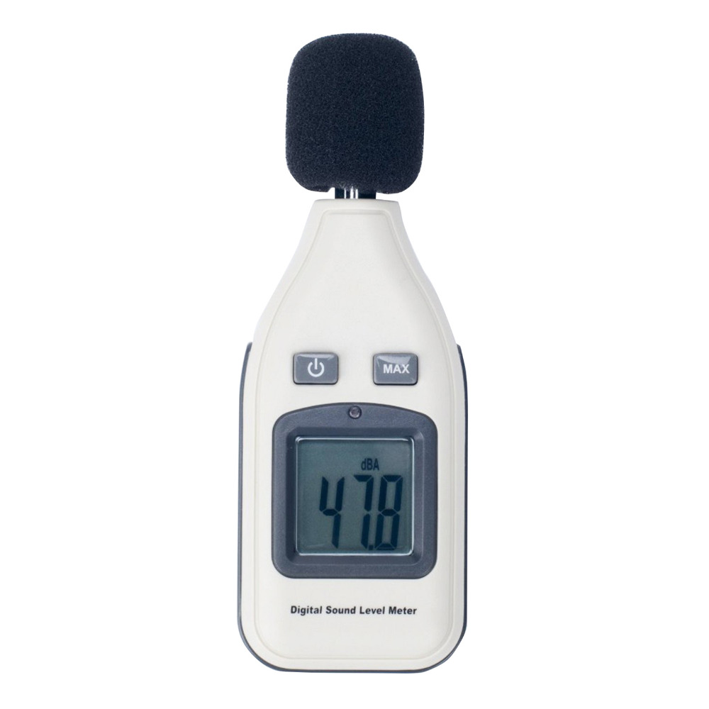 GM1351 30-130dB Digital sound level meter noise tester in decibels LCD screen New