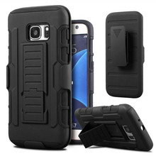 Shockproof Stand Cases for Samsung Galaxy S7 S3 S4 S5 S6 J5 J7 A3 A5 A7 2016 s7 edge s6 edge Armor Case Belt Clip Holster Cover(China (Mainland))