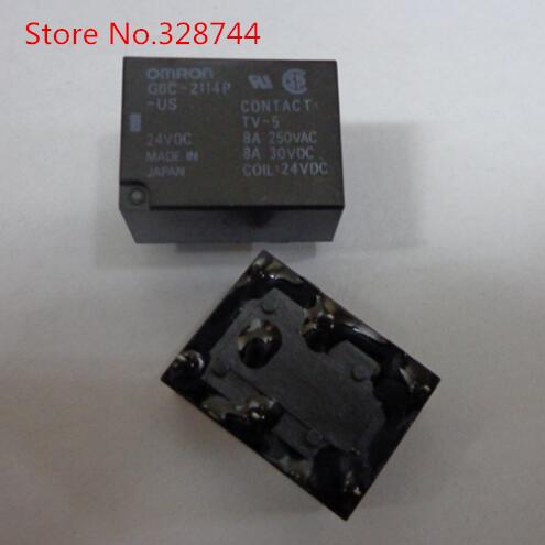 NEW G6C-2114P-US-24VDC G6C-2114P US-24VDC 24V DIP  Relay OMRON<br><br>Aliexpress