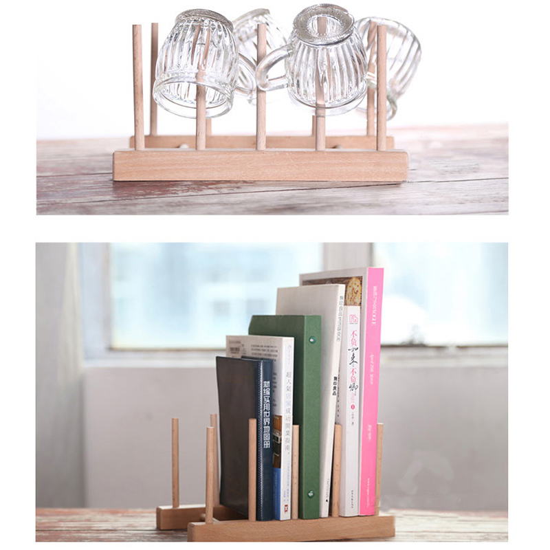Popular cd book holder buy cheap cd book holder lots from for Diy book rack